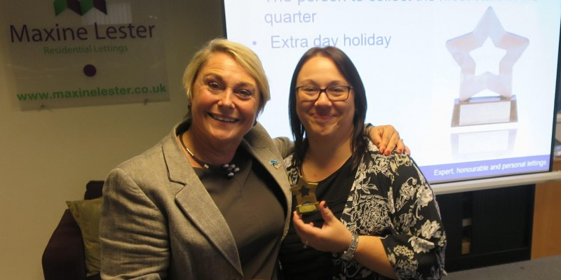 Star Performer at Maxine Lester Residential Lettings