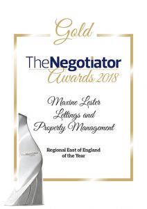GOLD NEGOTIATOR AWARD 2018