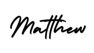 Matthew Lester Signature