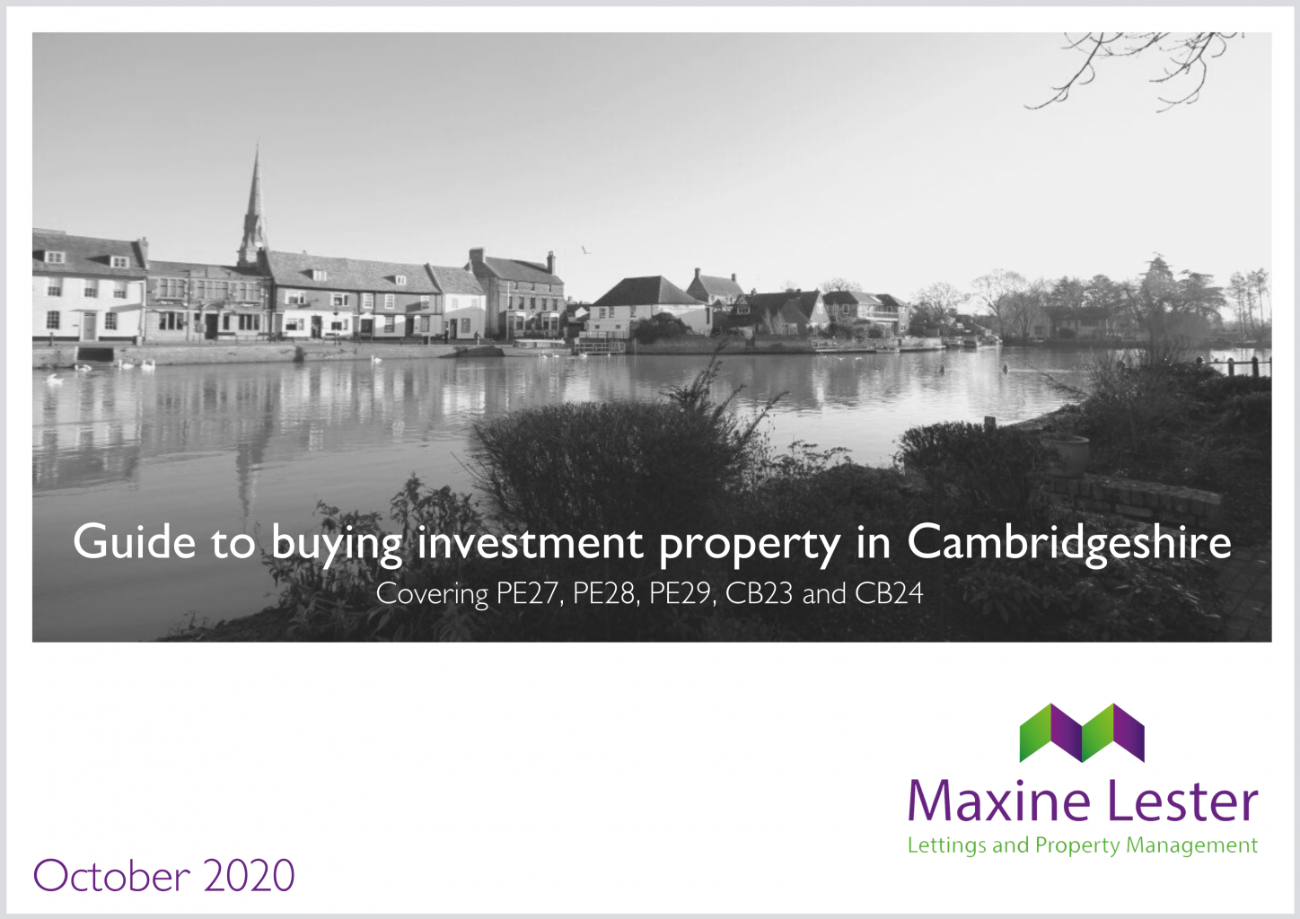 Buying investment property in Cambridgeshire